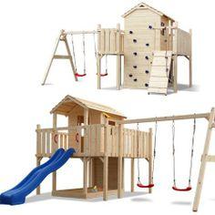 XXL Spielturm Kletterturm Stelzenhaus Rutsche 2 Schaukeln + komplettem Zubehör von Serina, http://www.amazon.de/dp/B00BY89LM0/ref=cm_sw_r_pi_dp_s6Notb1ASK84G
