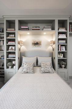 popular small master bedroom makeover ideas 31 ~ Home Design Ideas Ikea Bedroom, Bedroom Storage, Home Decor Bedroom, Bedroom Wall, Bedroom Ideas, Bed Room, Bedroom Furniture, Bedroom Red, Dorm Room