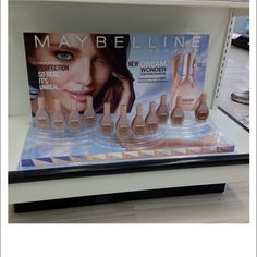 Maybelline New Dream Wonder Shelf Display
