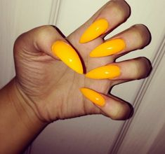 They look like oranges