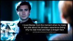 Primeval Confessions<-- oh my gosh, me too!
