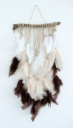 Do you have an hour and $8? Then you can make this easy and quick DIY feather wall hanging by Dreambookdesign.com too!!