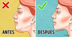 Los 7 ejercicios más eficientes para deshacerte de la papada