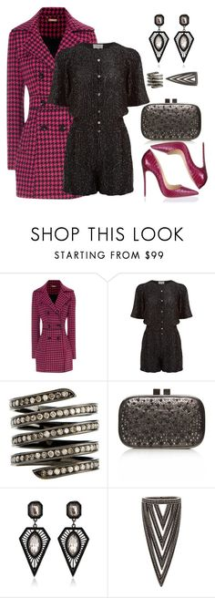 """""""Untitled #595"""" by hallierosedale ❤ liked on Polyvore featuring Jane Norman, Temperley London, Lynn Ban, Carvela and Christian Louboutin"""
