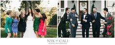 Nyk + Cali, Wedding Photographers | Nashville, TN | Front Porch Farms | Wedding | Bridesmaids | Groomsmen | Fun wedding party ideas | Fashion | Jewel tones