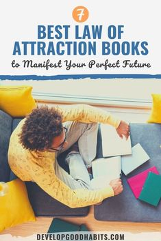 7 Best Law of Attraction Books to Manifest Your Perfect Future Mindfulness Books, Mindfulness For Kids, Mindfulness Activities, Manifestation Law Of Attraction, Law Of Attraction Tips, Great Books To Read, Read Books, Centering Prayer, Positive Thinking Tips