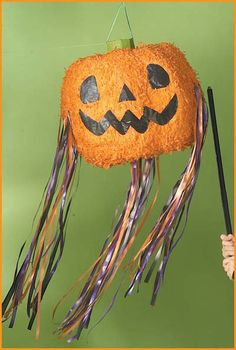 Halloween Party Games Pumpkin Halloween Pinata HalloweenCostumes4u.com