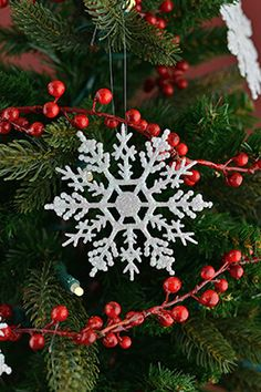Snowflake Ornament 4in (Pack of 60)