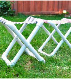 Saiba aqui passo a passo como fazer um banquinho de PVC