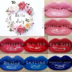 Hello July Lipsense Hello July, Senegence Makeup, Kissable Lips, Mimosas, Kiss Makeup, Hello Gorgeous, Brittany, Summer Fun, Vip