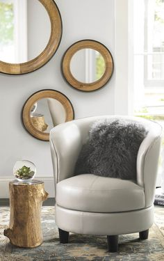 """""""Limited room doesn't have to limit your imagination. Rebecca is just one of our stylish ways to maximize a modest space."""" — Grandin Road Editors"""