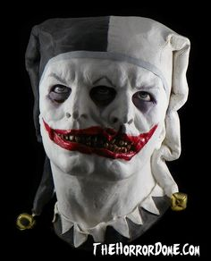 2 FACED JESTER with Ringing Bells Collector Mask.  Ok, enough already.