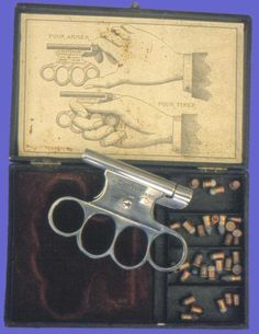 Brass Knuckle Guns From The 1800's