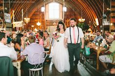 Wedding at Rubies & Rust Barn