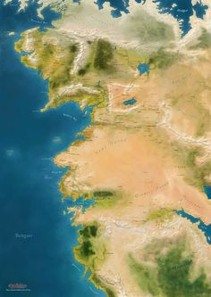 Expanded map of western Middle-earth by taivaansusi.deviantart.com on @DeviantArt
