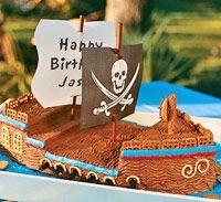 Pirate Cake (via Parents.com)