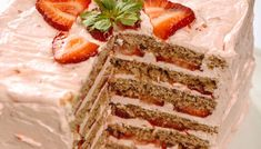 The Paleo AIP Easter menu from He Won't Know It's Paleo. From breakfast to breadsticks, and entrees to desserts, this list has you covered!(modify for SCD) He Wont Know Its Paleo, Strawberry Layer Cakes, Gluten Free Bagels, Sandwiches, Anti Inflammatory Recipes, Paleo Treats, Paleo Dessert, Just Desserts, Whole Food Recipes