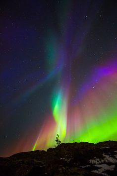 Northern Lights of Norway ♥ (by Vibeke Støbakk Myren)