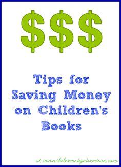 Saving Money on Children's Books : 30 Days of Reading with My Kids