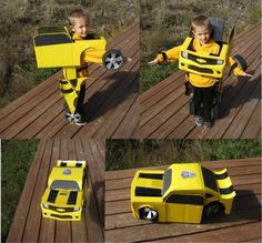 Bumblebee Transformer Costumes | Costume Pop                                                                                                                                                                                 More