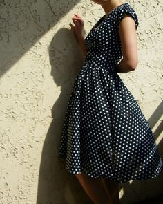Lucy in polka dotCustomMade by myblackdress on Etsy, $145.00