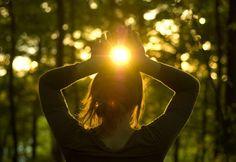 Agradecendo ao sol que me aquece e mantém o ciclo vital***