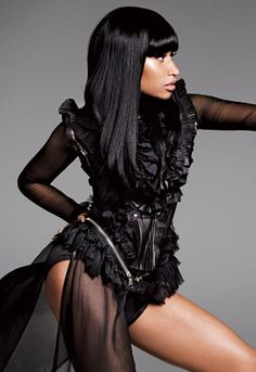The ONE female in the game right now who is highly innovative. Mad respect to Nicki Minaj.