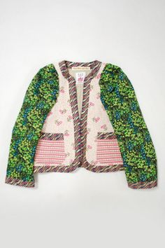 Little girl's quilted jacket @caitlin beauchamp