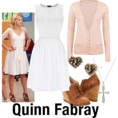 """""""Quinn Fabray--- I Kissed a Girl"""" by fandom-wardrobes on Polyvore"""