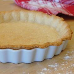 Pie Crust (Gluten-Free Recipe*)