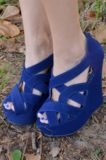 Follow Through Wedges: Royal Blue #perfection #shophopes