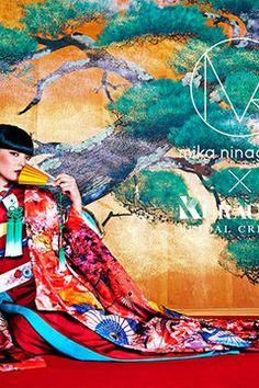 """蜷川実花による「M / mika ninagawa」のウエディングコレクションに初の""""和装""""が登場の写真1"""