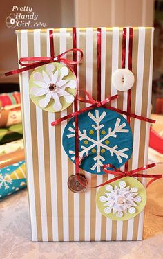 Cool gift embellishment crafts