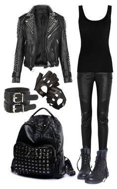 """""""Corinthian Leather"""" by choice-to-be ❤ liked on Polyvore featuring Balmain, Burberry, Aspinal of London and Twenty"""