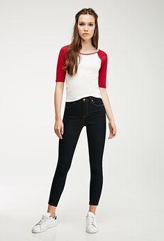 Clean Wash Skinny Jeans | Forever 21 - 2000053577