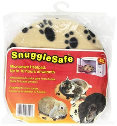Snuggle Safe Pet Bed Microwave Heating Pad Safe and soothing warmth Non-electrical; simply heat up in your microwave Plate-size pad easily fits under your pet's bed Provides up to 10 hours of safe and soothing warmth Non-toxic thermapol compound Microwave Plate, Microwave Heating, Cheap Dog Beds, Dog Beds For Small Dogs, Cheap Pets, Heated Pet Beds, Orthopedic Dog Bed, Foster Kittens, Your Pet