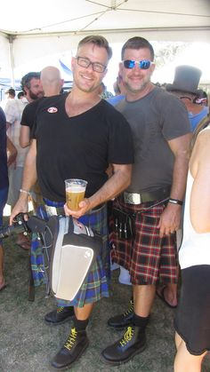 Men in Kilts, San Diego Tour de Fat 2015 - Photo by Patty Mooney of Crystal Pyramid Productions - http://sandiegovideoproduction.com/video-producers/patty-mooney/