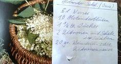 "Frl. Maiglückchens Tagebuch: ""Fliedersekt"" (Omis Holundersekt)"