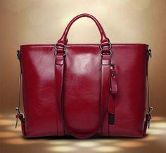 Women Genuine Leather Handbags Shoulder Messenger Bags Satchel Tote Purse  Bags Replica Handbags 98ced5bf364b0