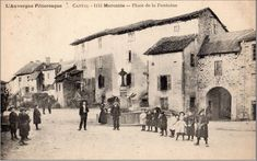 Voici un petit voyage dans le temps au village de Marcolès dans le Cantal.