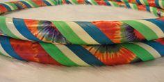 Design Your Own GLoW in The DARK Tie Dyed Hula Hoop  by HoopMamas, $39.95