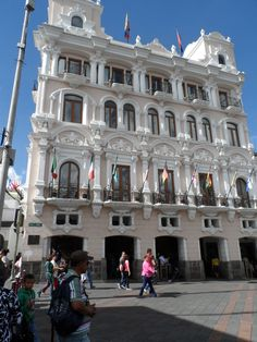 Hotel Plaza Grande - how beautiful this place is and right I mean feet from the Palace...Quito Ecuador