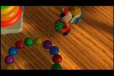 Tin toy.  Pixar short film