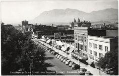 Tejon St ~ Colorado Springs Colorado ~ 1940's