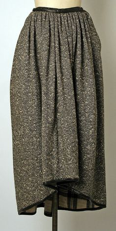 Skirt Bonnie Cashin (American, Manufacturer: Philip Sills & Co. (American, founded Date: 1960 Culture: American Medium: wool, leather Plaid Fashion, Fashion Outfits, Womens Fashion, Ladies Fashion, Bonnie Cashin, Patterned Tights, Fall Skirts, 1960s Fashion, Textiles