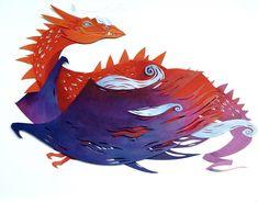 Cut Paper Art and Photography by Morgana Wallace | Blog | ModahausModahaus Art And Illustration, Illustration Animals, Character Illustration, Kirigami, Book Art, Arte Peculiar, Papier Diy, Colossal Art, Ouvrages D'art