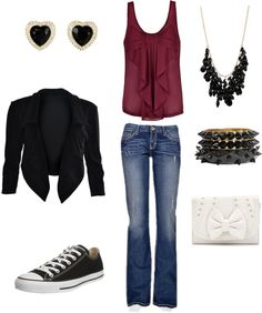"""""""Comfy yet Chic"""" by jeguinn on Polyvore"""