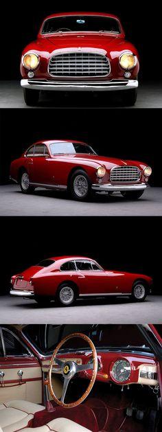 1951 Ferrari 340 America Ghia / red / Italy / 197hp 4.1l Lampredi V12 / Giovanni Michelotti