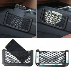 Cheap seat side, Buy Quality storage net bag directly from China car seat side Suppliers: Universal Car Seat Side Back Storage Net Bag Phone Holder Pocket Organizer Stowing Tidying