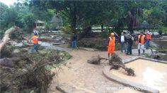 NOE CAPUÑAY TESEN: Huayco destruye instalaciones de baños termales en...